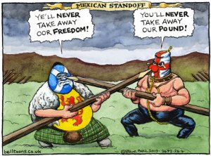 230413 Steve Bell Scotland currency