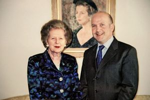 Anthony-Gilberthorpe-and-Mrs-Thatcher-in-2003