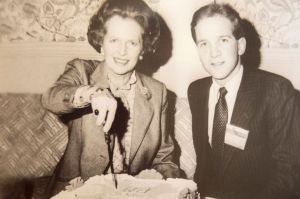 Anthony-Gilberthorpe-with-Mrs-Thatcher