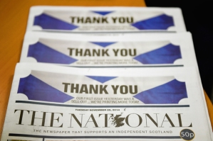 The National Newspaper Launches In Scotland