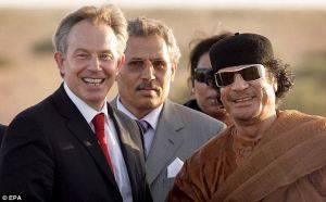 Blair Ghaddafi 2007 Does he ever change his clothes