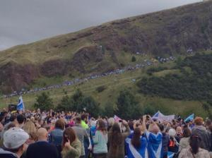Arthur's Seat March and Rally