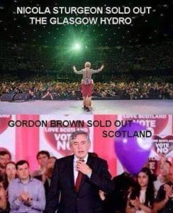 brown sellout