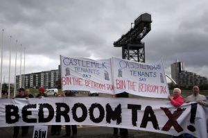Demonstration-over-bedroom-tax-outside-the-Liberal-Democrat-conference-in-Glasgow