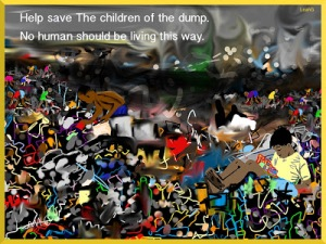 Help_save_the_children_ofmthe_dump_cartoon