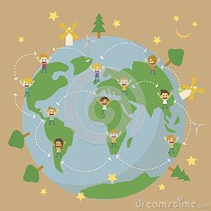 save-planet-earth-world-globe-map-children-around-world-30468826