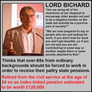 Lord Bichard Pensions