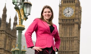 Jo Swinson MP in Westminster
