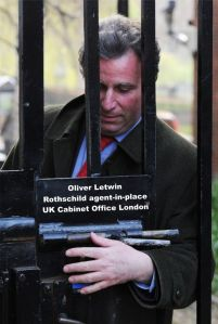 Oliver Letwin - Rothschild agent-in-place - London