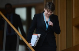 Davidson insists the reforms she has put in place since taking over from Annabel Goldie a year ago now need time to bed in. Picture: Neil Hanna