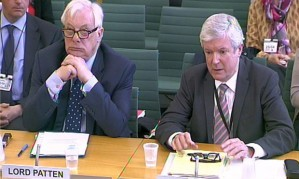 Lord Patten and Lord Hall