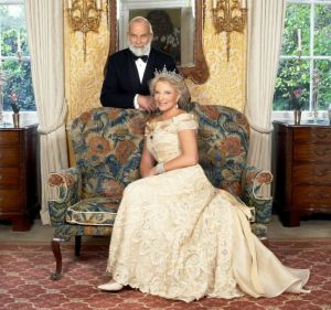 28/06/2008    Prince Michael of Kent and Princess Michael of Kent.  Obligatory Credit - CAMERA PRESS / John Swannell. APPROVED FOR PUBLICATION FROM: 29/06/2008.  SPECIAL PRICE APPLIES - CONSULT CAMERA PRESS OR ITS LOCAL AGENT.  TRH Prince and Princess Michael of Kent photographed by John Swannell to mark the 30th anniversary of their wedding which took place in Vienna on 30th  June 1978.  When asked to say to what she attributed her happy marriage, Princess Michael says it is due to being friends first, long before they fell in love.  Lord Frederick Windsor was born nine months and five days after their wedding and Lady Gabriella in the same month two years later.    Pictured at Kensington Palace, London D 87722-03