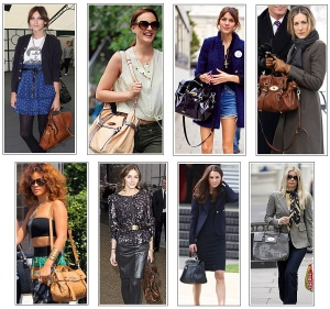 CelebritywithMulberryStyleHandbags