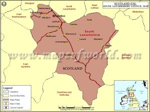 south-lanarkshire-map