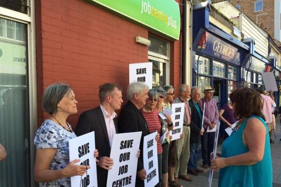 jobcentre-plus-closure-protest