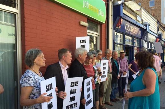 jobcentre-plus-closure-protest