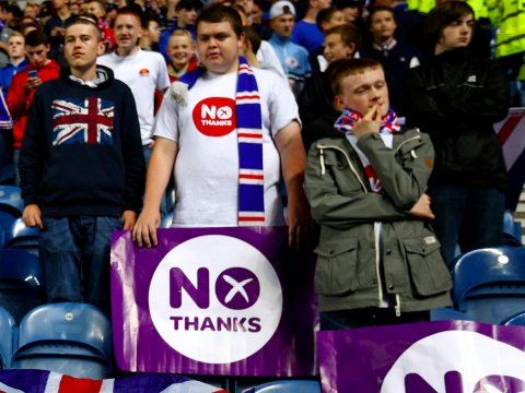 rangers-fans-display-no-thanks-post