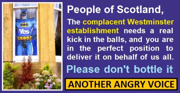 Yes Complacent Westminster Establishment