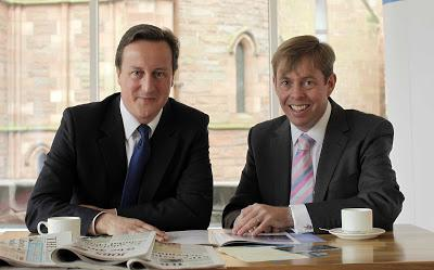 Richard Cook David Cameron