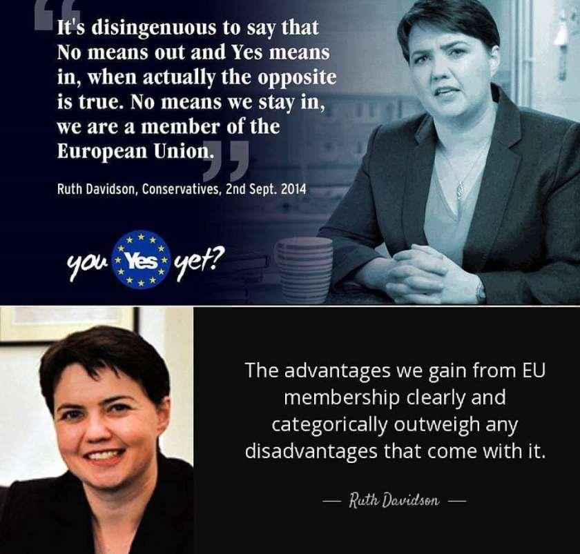 Image result for ruth davidson brexit