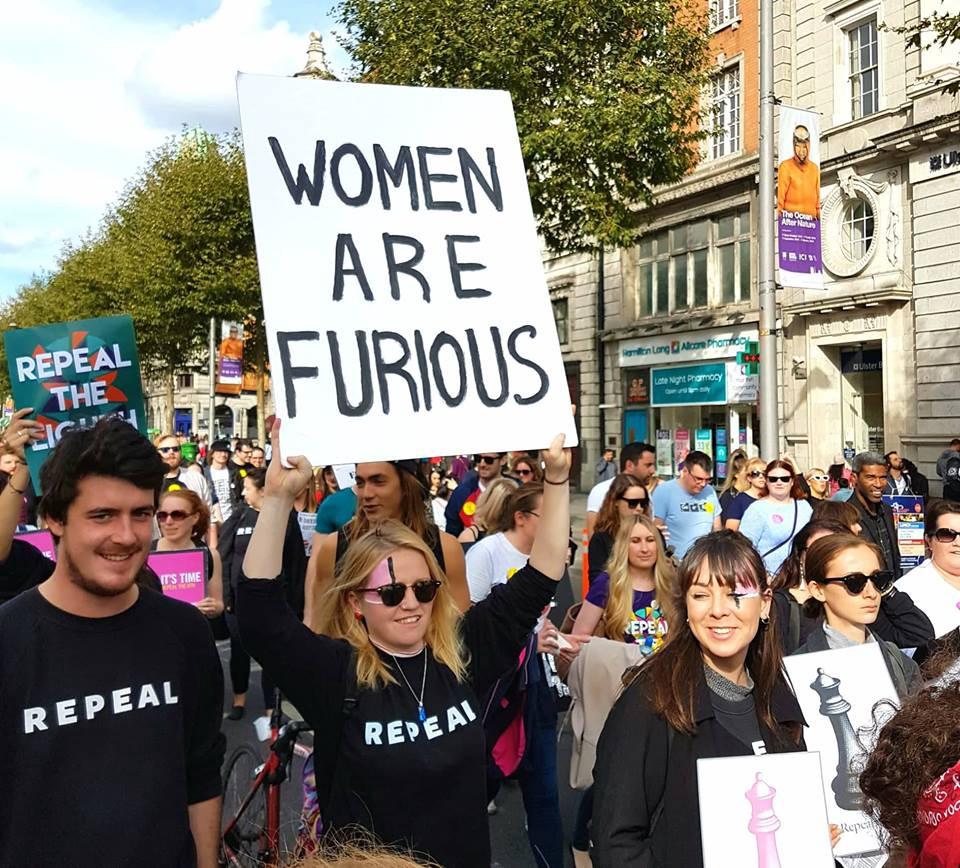 How a Feminist Movement Changed Ireland | by Taryn De Vere | Athena Talks |  Medium